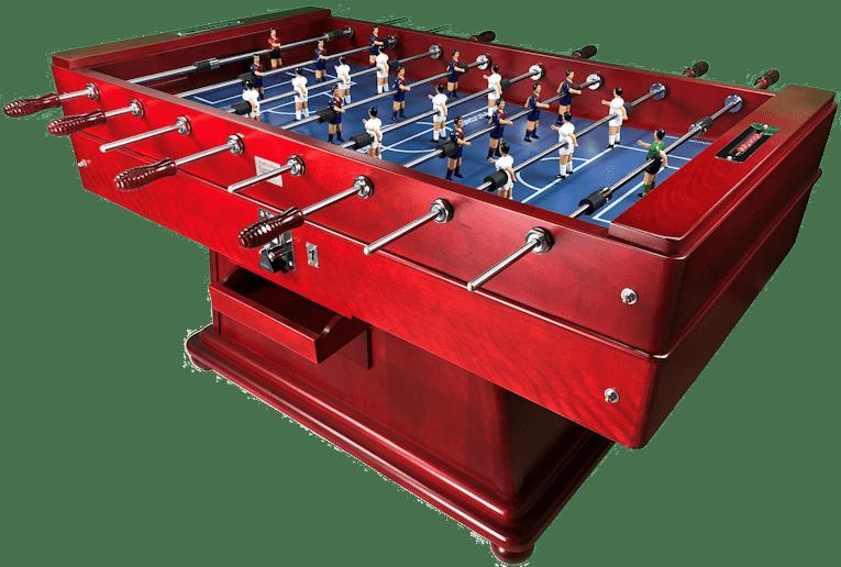 Futbolín Córdona Rojo pista Azul